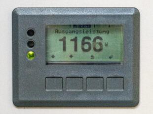 Display Wechselrichter Fronius