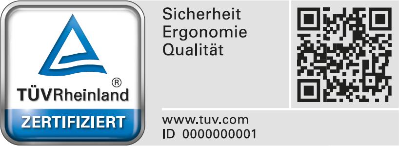Siegel TÜV Rheinland